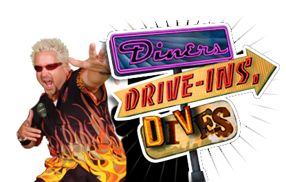 Pinky G's was featured on Food Networks; Diner's, Drive-In's and Dives